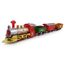The Classic Jr Battery Operated Christmas Tree Kids Toy Train Set Light Sound