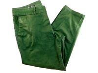 "Kut from the Kloth Green Crop Trouser Women's Pants Size 8 33x25"""