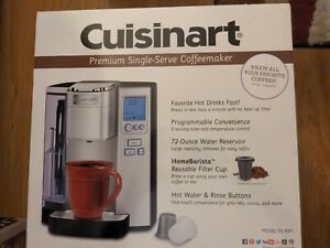 Cuisinart SS-10P1 Premium Programmable Single-Serve Coffee Maker