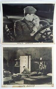 HELL'S ANGELS [1930] FILM STILLS Jean Harlow, Ben Lyon, James Hall