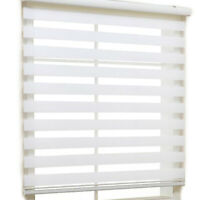 Basic1 roll Window Roller Blind Zebra Vertical Curtain horizontal treatment H 64
