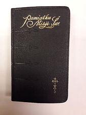 Vintage Polish Prayer Book Pamiatka Misji Swietej Brand New