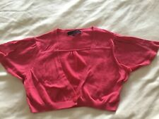 Girls age 12 French Connection Bolero/ Cardigan Pink Worn Once