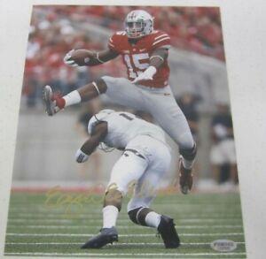 Ezekiel Elliott Dallas Cowboys Ohio State Buckeyes Signed Autographed 8x10 Photo