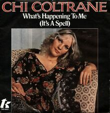 """CHI COLTRANE: What´s Happening To Me (´77 / rare orig. German PROMO 7"""")"""