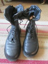 Trippen corset boots size 38,or uk 5 black,immaculate !!