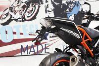 EVOTECH PORTATARGA REGOLABILE KTM DUKE 390 2017-2018 TAIL TIDY + LUCE TARGA