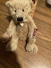 "Russ Mohair Collection 10"" sitting Teddy Bear Bentley Vintage Edition Plush"