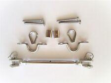 Stainless Steel 316 Balustrade Kit Bottlescrew Jaw Jaw Thimble Saddle Ferrule