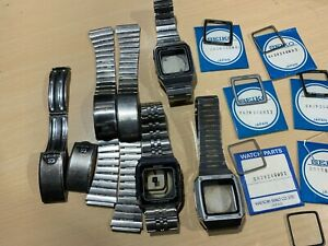 Huge job lot of Seiko G757 watch parts and spares