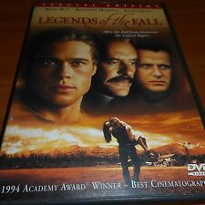 Legends of the Fall (DVD, 2000, Widescreen Special Edition)