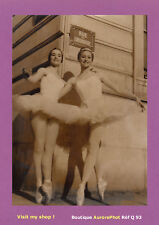 PHOTO PRESSE 1961 : MARIE-CLAUDE FOLIOT & FRANÇOISE ZUMBO, 1ers PRIX DANSE -Q93