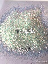 Nail Art Festival Glitter Fairytale White Blue Iridescent 5g pot or bag
