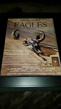 Eagles History Of The Eagles Rare Pre-Release Promo Ad Framed!