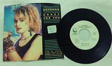 Madonna ~ Crazy for You No More Words ~ Geffen Records ~  ~ 45RPM Record Vinyl
