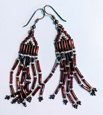 Style Beaded Earrings Medium Length Native American