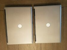 Lot of 2 Dell Latitude D620 Laptops - Intel Core 2 Duo 2.00 GHz, 2GB RAM, 160 HD