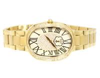 Ladies Aqua Master Swiss Gold Symmetry Genuine (1.0 ct) Diamond Watch W#343