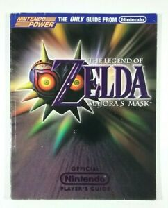 The Legend of Zelda Majora's Mask Strategy Guide Nintendo Power Official