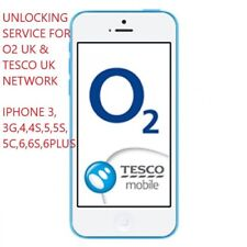 O2 TESCO GIFFGAFF (UK)  UNLOCK SERVICE FOR IPHONE 3GS 4 4S 5 5S 5C 6  6+,6S PLUS