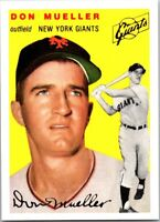 DON MUELLER 1994 TOPPS ARCHIVES 1954 TOPPS GOLD #42 (FREE SHIPPING)D