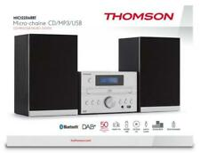 Thomson Bluetooth Kompaktanlage MIC122DABBT USB MP3 DAB+ Radio silber TH367621