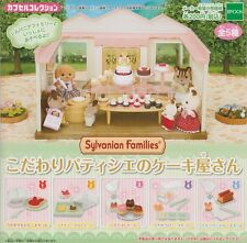 Epoch Sylvanian Families capsule toy Precious Pastry Cheese Cake Shop All 5 Item