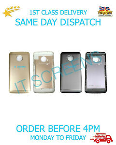 Rear Back Battery Cover For Motorola Moto E4 Plus XT1770 Rear With Buttons