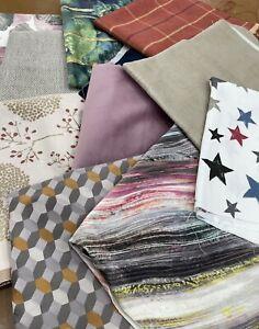 PT designer Fabric Pieces. 10 FOR £20 / ALL PIECES AROUND 1 METRE EACH