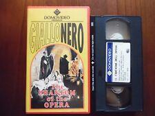 The phantom of the opera (Rupert Julian, Lon Chaney) - VHS ed. Domovideo rara
