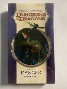 Dungeons & Dragons Player´s Handbook RANGER Power Cards D&D *OVP*