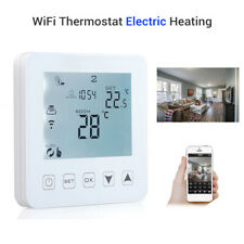 HY08WE-4 WiFi Thermostat Electric Heating LCD Smart Controller Home Alexa Voice