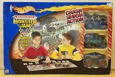 Hot Wheels Official Monster Truck Series Monster Jam Game 2002 RARE NIB!