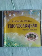 La Epoca De Oro  DE. ..TRIO VEGABAJENO TROPICAL CARIBBEAN BOLERO AUDIO CD