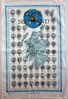 Scottish Tea Towels or Wall Hangers, 100% cotton - 10 Designs - Scotland Gift