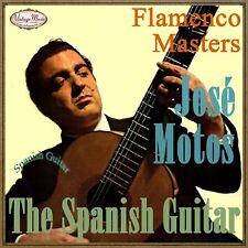 JOSE MOTOS CD Spanish Guitar / Spain Guitar Baile Flamenco Guitarra Gypsy Master