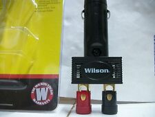 WILSON CIGARETTE LIGHTER PLUG WITH 2 BINDING POST RED & BLACK CB RADIO ALSO