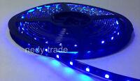 5M 24V 3528SMD 300LEDs Tira de Luz Flexible Azul Luces Led Impermeable Nuevo