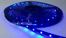 5m 24V 3528 SMD 300LEDs Strisce Luminose Flessibile Led Blu Tubo Impermeabile