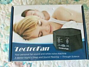 LectroFan White Noise Sound Machine Black asm1007kr