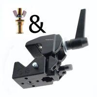 """Manfrotto Bundle 035 Superclamp & 264 Mini TV Zapfen (5/8"""") mit 25mm M10 Gewinde"""