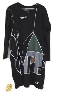 Kowtow Lond Sleeve Dress....S (10-12)