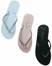 LADIES FLIP FLOPS SUMMER SANDALS UK STORE SWIM BEACH COLLECTION UK 3-8 NEW