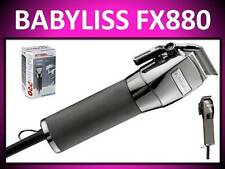 BABYLISS PRO FORFEX 880 PROFESSIONAL HIGH SPEED STEEL BLADES PIVOT MOTOR CLIPPER