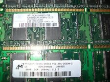 4 Desk top memory modules lot #4