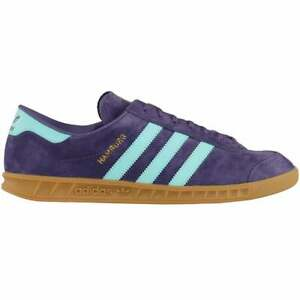 adidas Hamburg Lace Up  Mens  Sneakers Shoes Casual