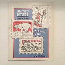 United States Postal Service US POSTAGE STAMPS COLORING BOOK 1994 Never Used