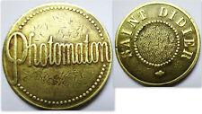 JETON PHOTOMATON .SAINT DIDIER.PAS COURANT LAITON 23 MM