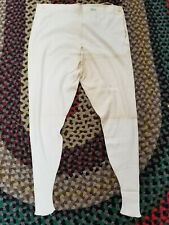 Vintage 1920s 1930s Nos Li Falco Cotton Knit Long Underwear Size 40 Mens W 36""