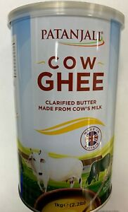 Patanjali Desi Ghee made from Cow's Milk 500g,1KG,2KG NEW STOCK
